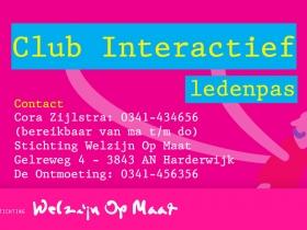 Ledenpas Club Interactief