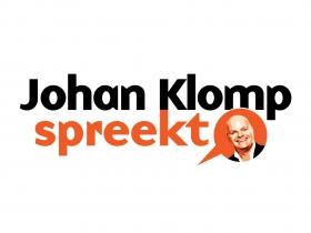 Logo ontwerp Johan Klomp Spreekt